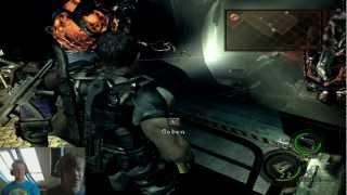 """☢ Resident Evil 5 [Kamera HD] Let's Play (german deutsch together) Part 33 """"Excella-Rage V1"""" ☢"""