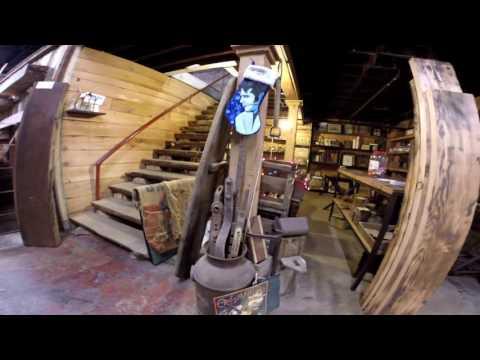 Tour Of Real Antique Wood Mill Reclaimed Lumber Irvington NJ Rustic Decor