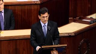 Eric Cantor Marks Tenure as Majority Leader with Closing Remarks to the House