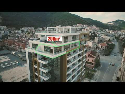 Victoria Residence Budva - Penthouse 200m2 for sale