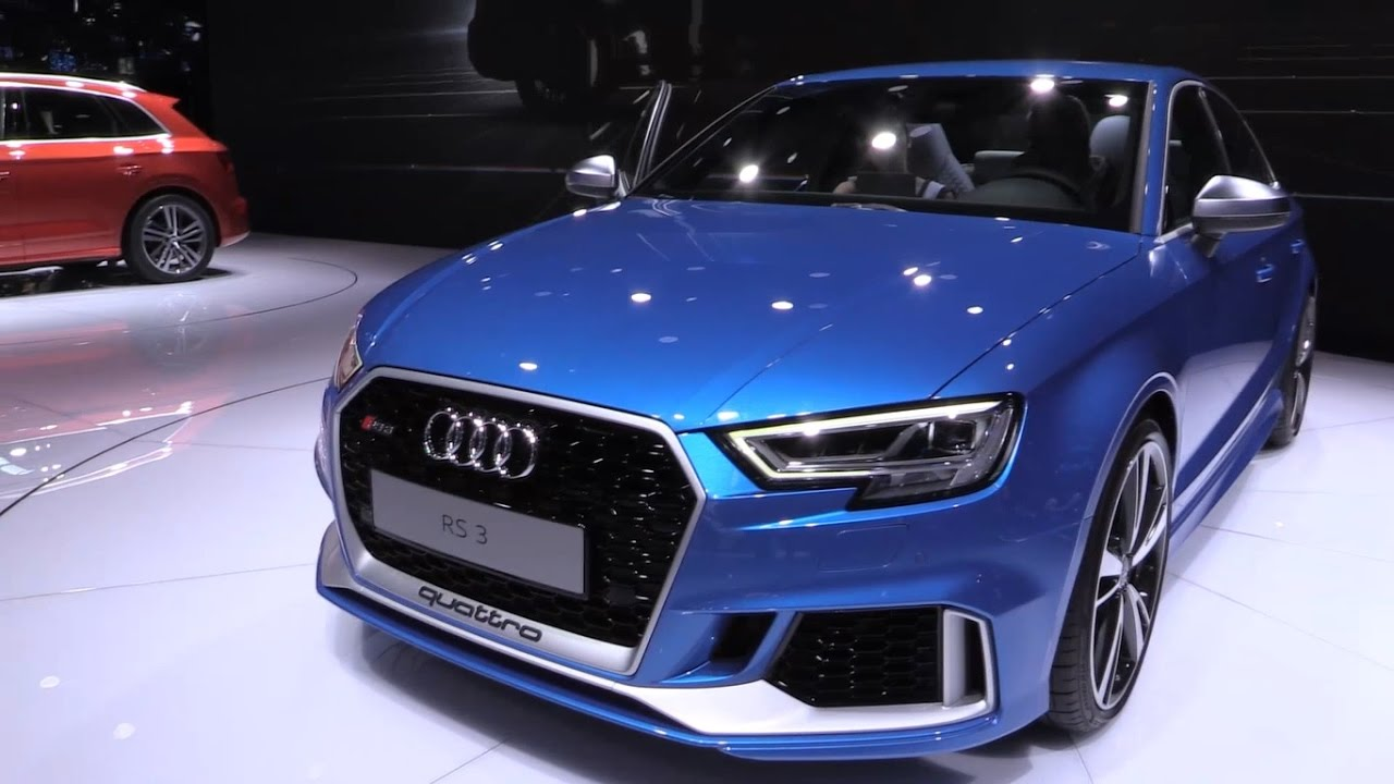 audi rs3 sedan 2017 in depth review interior exterior youtube. Black Bedroom Furniture Sets. Home Design Ideas