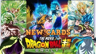 NEW DRAGON BALL SUPER BROLY MOVIE CARDS SPOILERS! Mp3