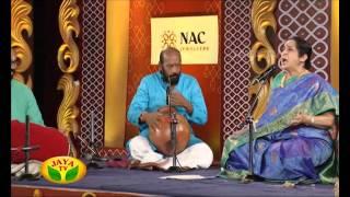 Margazhi Utsavam - Episode 45 Aruna Sairam On Saturday,09/01/2016