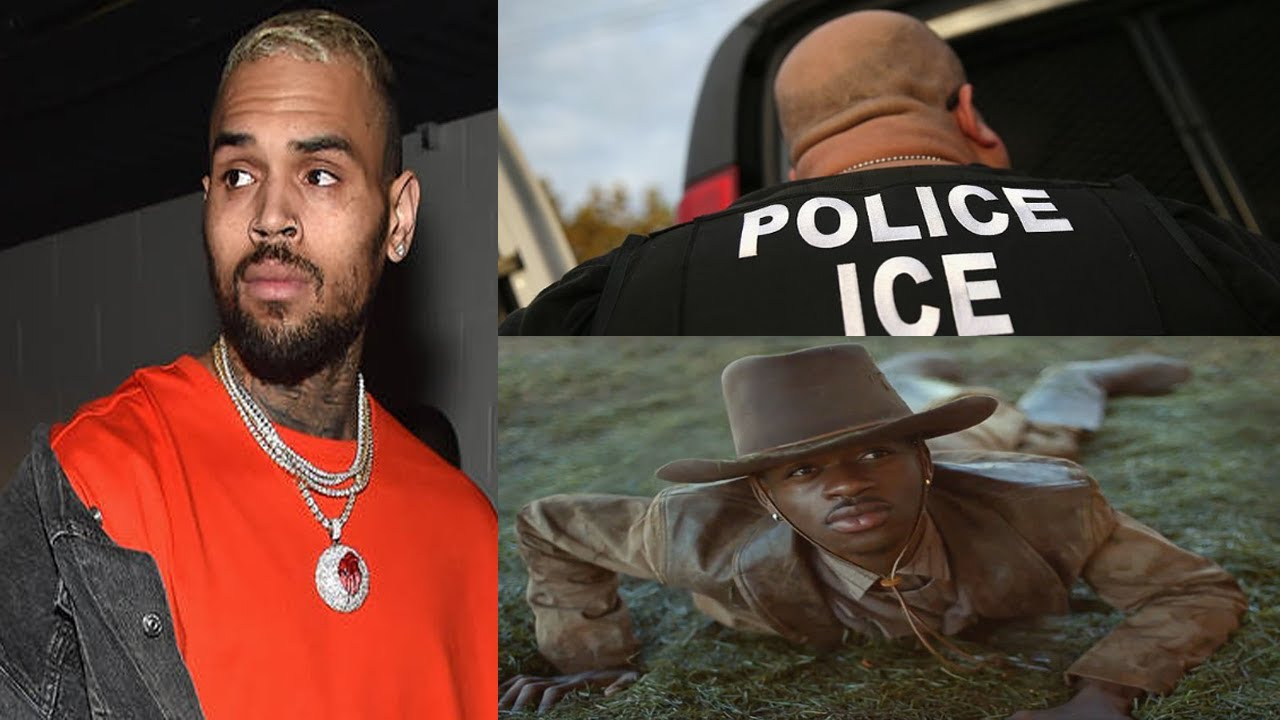 """CHRIS """"COON"""" BROWN, TRUMPS $500K ILLEGAL IMMIGRANT FINE, LIL NAS X GAY 