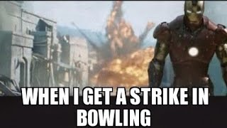 Lowest score bowling challenge + Avengers Infinity War discussion