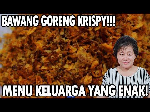 Resep : Bawang Goreng Krispy(red Onion Crispy)