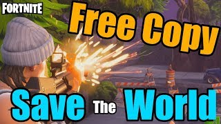 Fortnite Save the World Free Code/Copy [CLOSED]