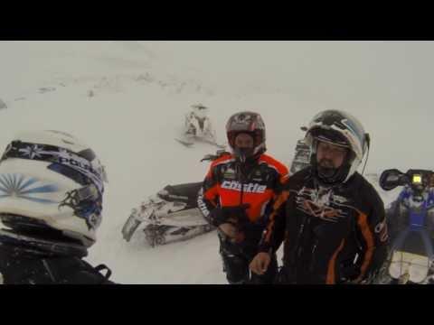 Хибины 29.11.13 (тест Polaris 800 Indy SP 2014)