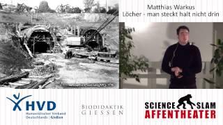 Science Slam - Matthias Warkus: Löcher - man steckt halt nicht drin