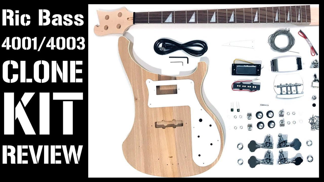 Rickenbacker 4001 4003 Bass Diy Kit Review Mod Bass Kit The