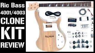 Rickenbacker 4001/4003 Bass DIY Kit Review (Mod Bass Kit-The Fretwire, RC-4/RCA-4 Pit Bull Guitars)