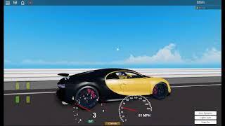 Bugatti Chiron lap (ROBLOX DtD)