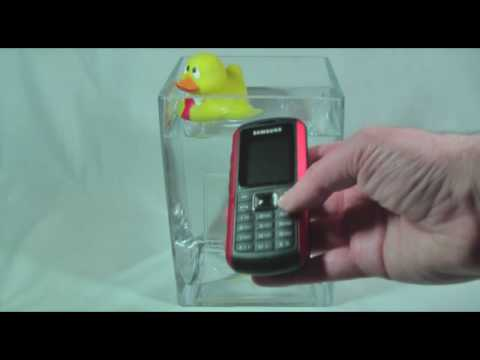 Samsung B2100 Solid Extreme: Does it work under water?