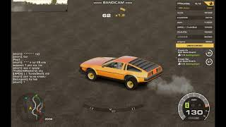 Cary Drift Racing (pc) Delorean Wheelie
