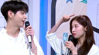 뮤직뱅크와 생일이 겹친 아린 MC | 23번째 생일 축하해♡