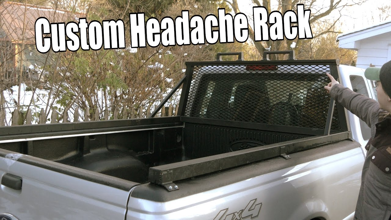 Build Your Own Custom Headache Rack Window Cage For Pick Up Truck
