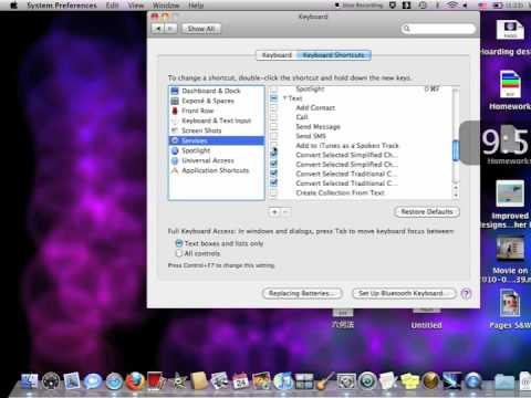 Converting text into a spoken track with iTunes