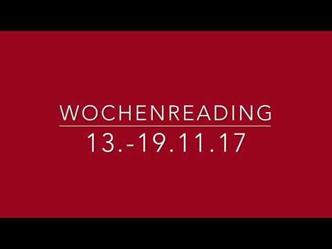 Wochenreading 13.-19.11.17
