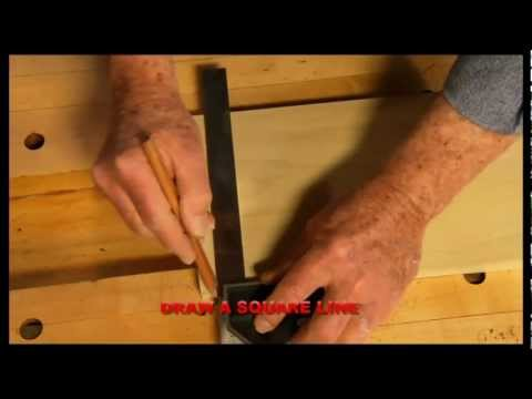 HD - Combination Square Tricks - Carpenter Tools