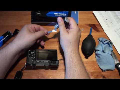 APSC Sensor Cleaning Kit Unboxing and Use