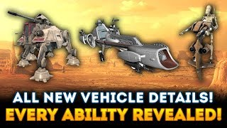 EVERY Geonosis Vehicle and Ability Revealed! - Star Wars Battlefront 2 Clone Wars DLC