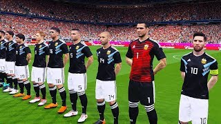 Argentina vs Germany | Fifa World Cup 2018 Gameplay