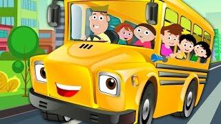 Räder Auf Dem Bus Go Round And round | Nursery Rhymes Und Kinder Lieder | Kinder-Tv-Cartoon-Videos