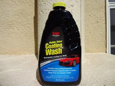 stoner car care visible shine coating wash review on my kawasaki