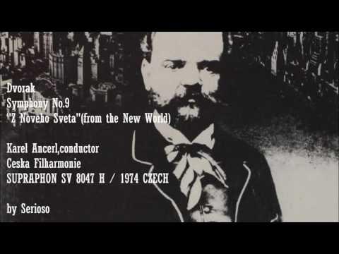 Dvorak, Symphony No 9, Karel Ancerl