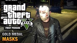 GTA 5 - Mission #36 - Masks [First Person Gold Medal Guide - PS4]
