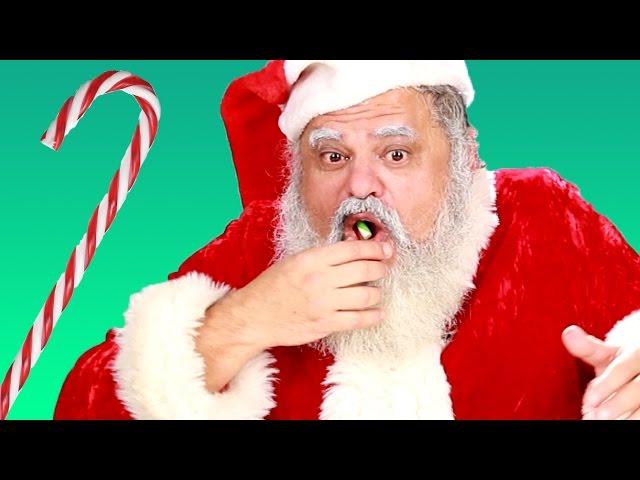 Santas Guess Bizarre Candy Cane Flavors