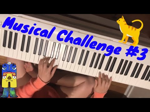 NO FEET PIANO PLAYING MUSICAL CHALLENGE