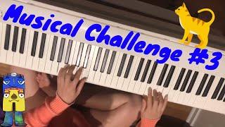 NO FEET PIANO PLAYING MUSICAL CHALLENGE