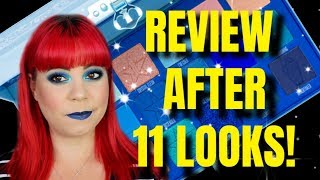 Jeffree Star Blue Blood palette HONEST REVIEW after doing 11 looks