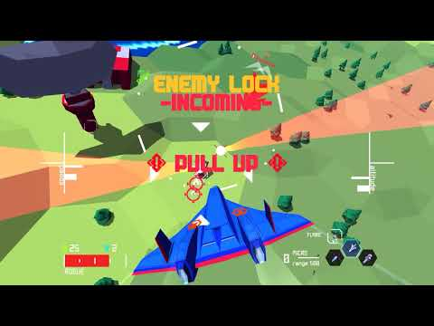 Sky Rogue - Procedurally Generated Jet Combat Simulator QHD
