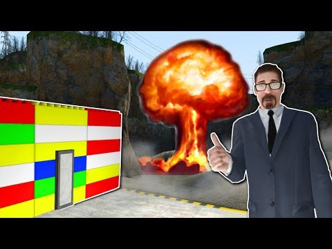 NUKE SURVIVAL in LEGO BASE? - Garry's Mod Gameplay - Gmod Nuke Survival Roleplay