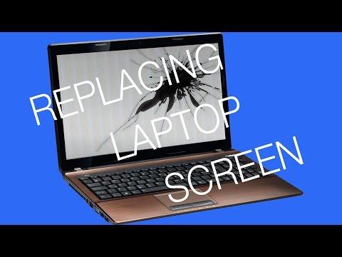 Replacing Broken Laptop Screen (Toshiba Satellite C55-B5298)