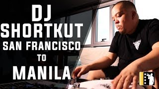 DJ SHORTKUT, scratching legendary from Beat Junkies, Invisible Scratch Pickles and Triple Threat DJs