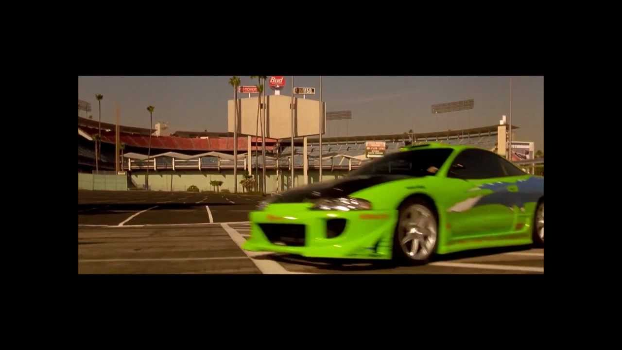 Nfs Movie Cars Wallpaper Mitsubishi Eclipse Verde Brian O Conner Turbo Velozes E