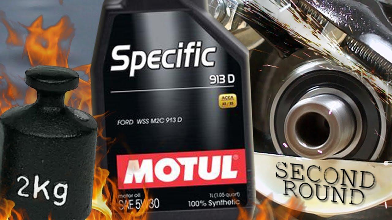 Motul Specific Ford 913D 5W30 Jak skutecznie olej chroni silnik? 2kg