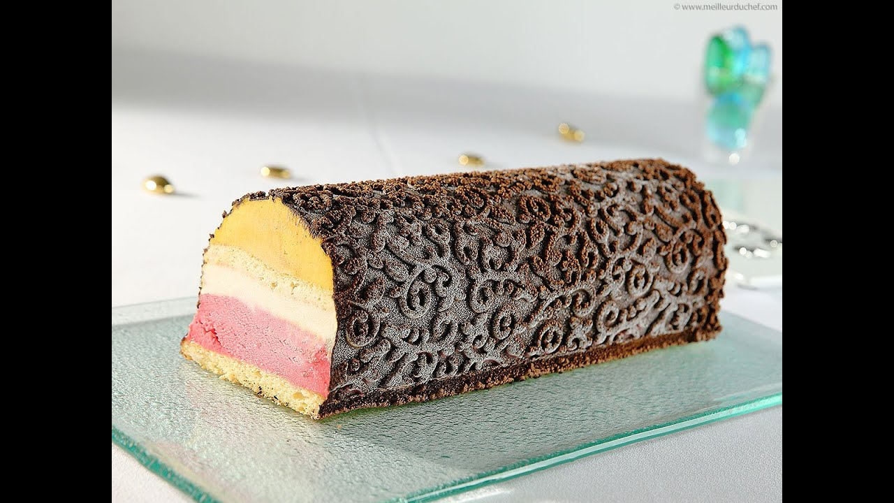 Buche maison aux fruits