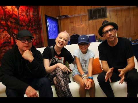Kids Interview Bands - Garbage (Shirley Manson, Steve Marker, Duke Erikson)