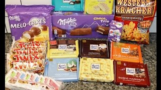 4th Box Opening Of Snacks & Sweets From Germany