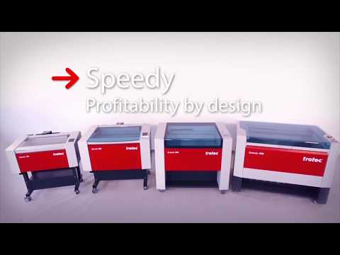 Trotec Speedy 360 - Grabadora y cortadora láser
