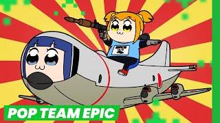 POP TEAM EPIC, o anime mais sem noção da temporada!