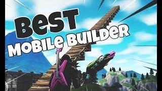 insane fortnite mobile builder mobile pro build battle montage 6 - best builder on fortnite mobile