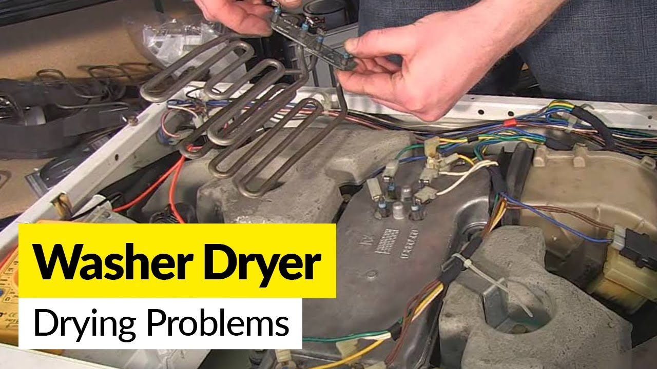 how to diagnose washer dryer drying problems [ 1280 x 720 Pixel ]