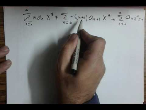 Power Series Solutions of Differential Equations - ثامر قدورة