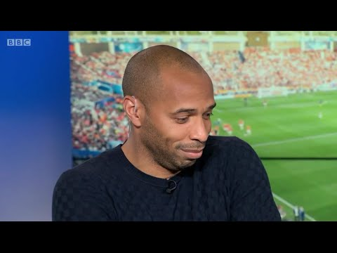 Thierry Henry gets humiliated by Alan Shearer and Gary Lineker