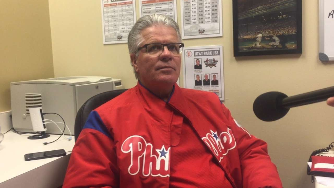 PHI@SF: Mackanin on the grand slam lifting Phillies